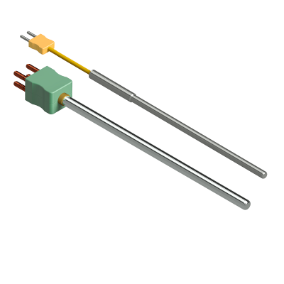 Thermocouple with cable and connector